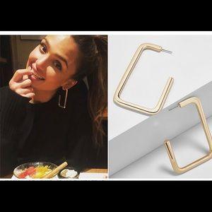 Bauble bar gold Veronica earrings